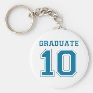卒業生2010年-青い キーホルダー