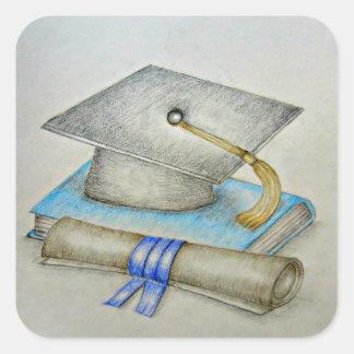 卒業 スクエアシール