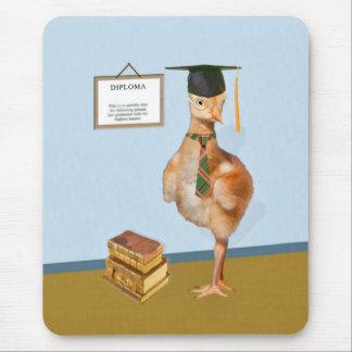 卒業、ベビーのSandhillクレーン マウスパッド