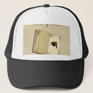 卒業、卒業の帽子および免状の物語 キャップ