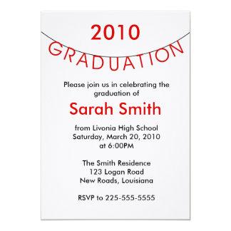 卒業 招待状