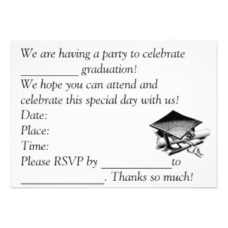 卒業 招待