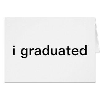 卒業|発表 グリーティングカード