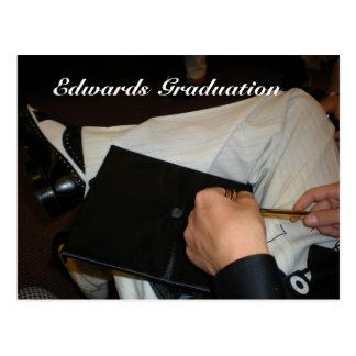 卒業 葉書き