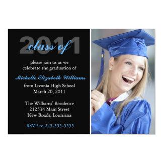 卒業 12.7 X 17.8 インビテーションカード