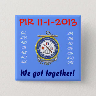 卒業PIR PIN 5.1CM 正方形バッジ