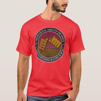 卓上のドラマー Tシャツ