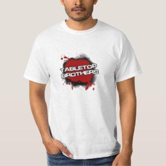 卓上の兄弟のTシャツ Tシャツ