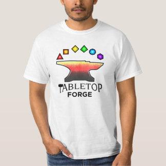 卓上の炉の価値Tシャツ Tシャツ