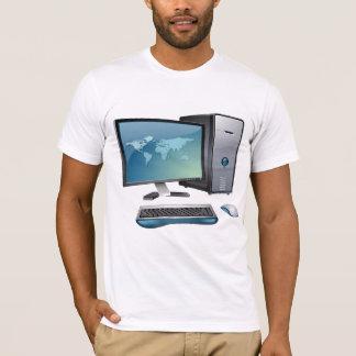 卓上コンピュータメンズTシャツ Tシャツ