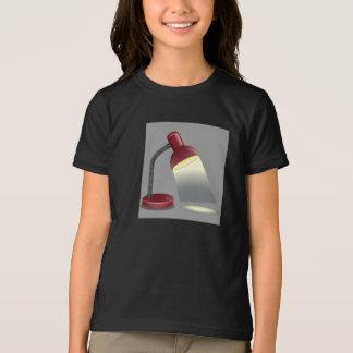 卓上スタンドの女の子のTシャツ Tシャツ