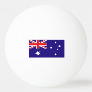 卓球のためのオーストラリアの旗のピンポン球 卓球ボール