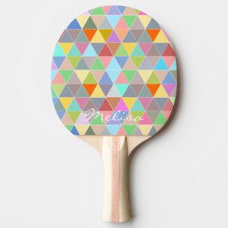 卓球のための幾何学的な芸術の卓球ラケット 卓球ラケット