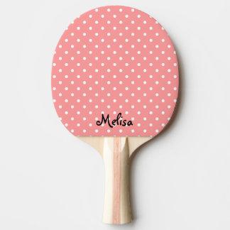 卓球のための珊瑚の水玉模様の卓球ラケット 卓球ラケット