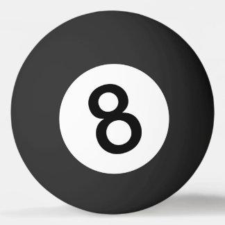 卓球のための8球か黒い球 卓球 球