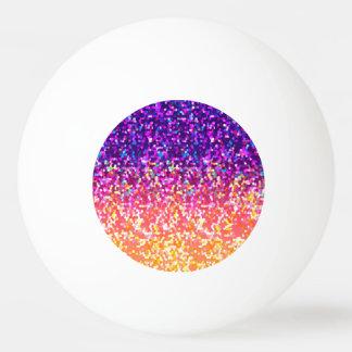 卓球のグリッターのグラフィック 卓球ボール