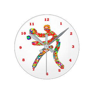 卓球のスポーツ ラウンド壁時計