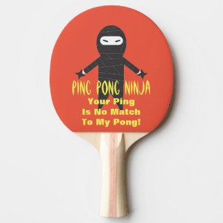 卓球の忍者のおもしろいな卓球ラケット 卓球ラケット