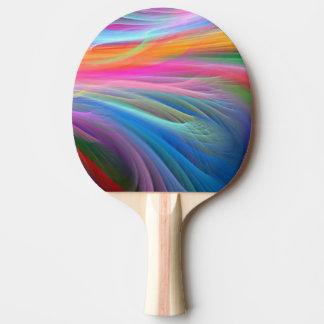 卓球ラケットか多彩の抽象芸術 卓球ラケット