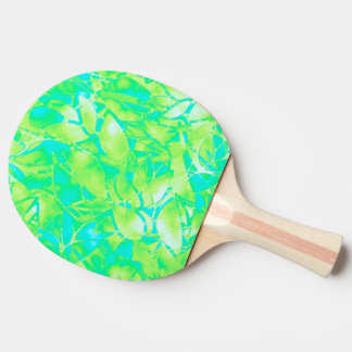 卓球ラケットのグランジな芸術の花柄の抽象芸術 卓球ラケット