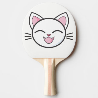 卓球ラケット。 猫 卓球ラケット
