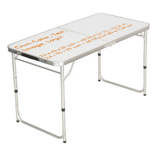 卓球台は色-単白--を所有します ビアポンテーブル