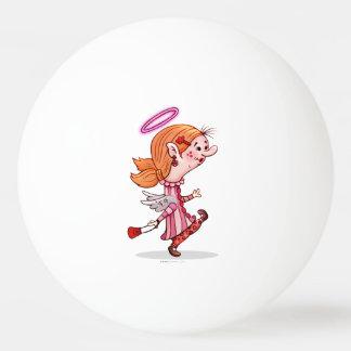 卓球1のLULUの天使の漫画の球は主演します 卓球ボール