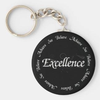 卓越性-達成しなさいことを信じるためにことを見て下さい キーホルダー