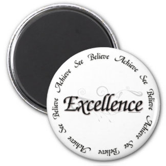 卓越性-達成しなさいことを信じるためにことを見て下さい マグネット