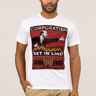 協調組合主義のワイシャツ Tシャツ