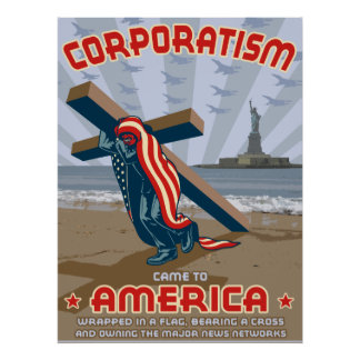 協調組合主義 ポスター