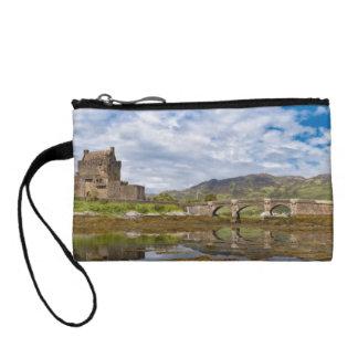 南から見られるパノラマのEilean Donanの城 コインパース