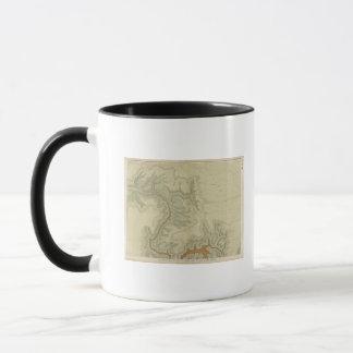 南の地質地図 マグカップ