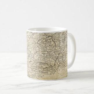 南アイルランドミュンスターラインスターのヴィンテージの地図 コーヒーマグカップ
