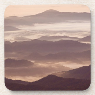 南アパラチア地方住民の朝の霧 コースター