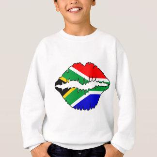 南アフリカのキスのテーマ スウェットシャツ
