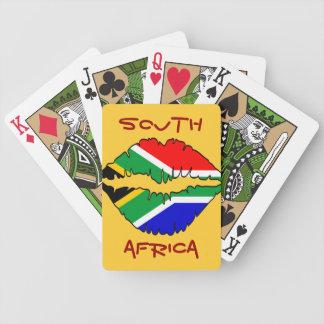 南アフリカのキスのトランプ バイスクルトランプ