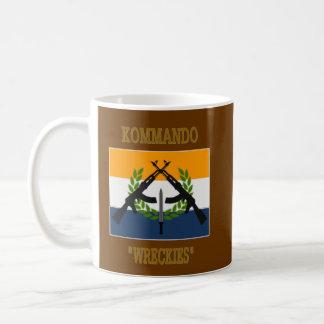 南アフリカのコマンド コーヒーマグカップ