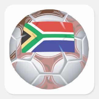 南アフリカのサッカーボール スクエアシール