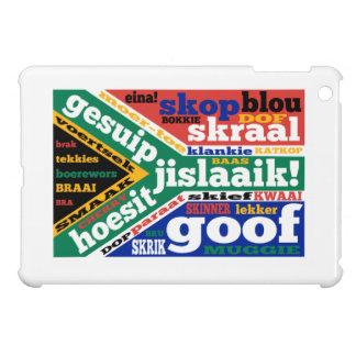 南アフリカの俗語およびcolloquialism iPad miniケース