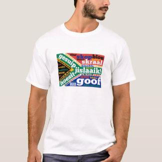 南アフリカの俗語およびcolloquialism tシャツ