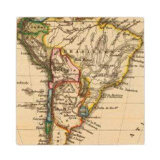 南アフリカの地図 ウッドコースター