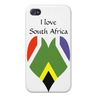 南アフリカの平和旗 iPhone 4 COVER