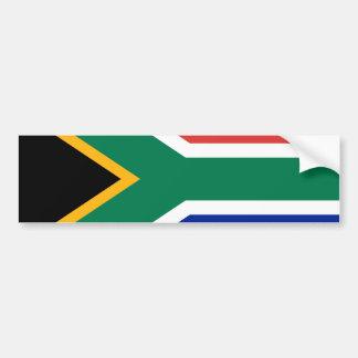 南アフリカの旗 バンパーステッカー