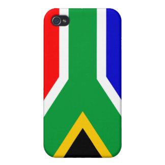 南アフリカの旗 iPhone 4 カバー