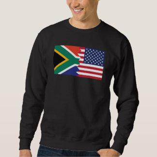 南アフリカの米国旗 スウェットシャツ