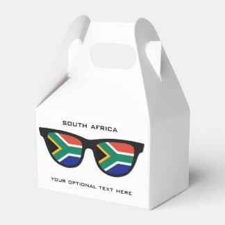 南アフリカの陰カスタムな文字及び色の好意箱 フェイバーボックス