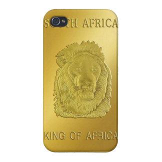 南アフリカのKrugerrand LionHeadのiphoneの場合 iPhone 4 カバー