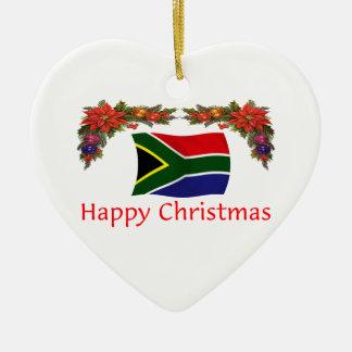 南アフリカ共和国のクリスマス セラミックオーナメント