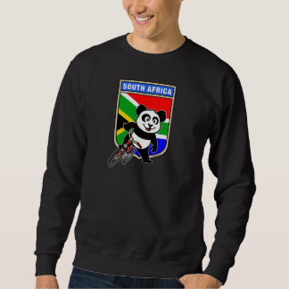 南アフリカ共和国のサイクリングのパンダ スウェットシャツ